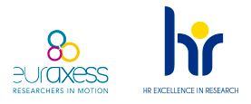 Logotipos HR Excellence in Research y Euraxess